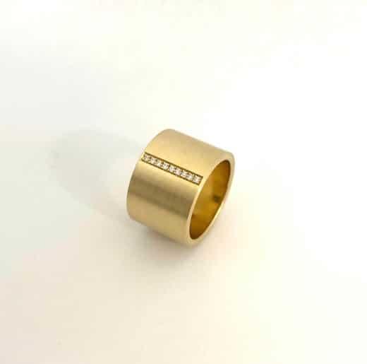 Line ring juwelier en edelsmid uni10
