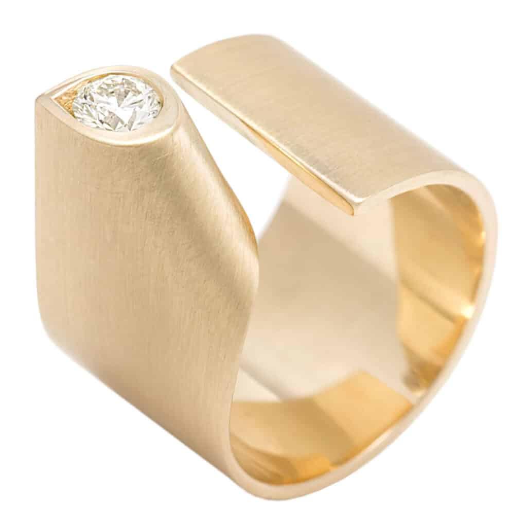 the diamond 14k gouden ring