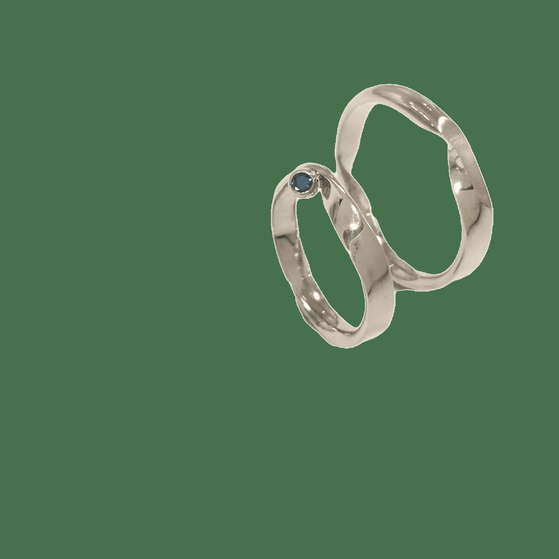 Witgoud trouwring de juwelier in overijssel uni10